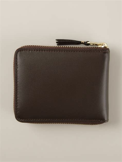 Comme De Garcons Knot Handbag Wallets by Comme Des Gar 231 Ons Classic Plain Wallet In Brown For