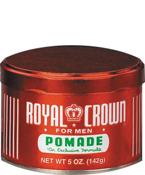 Pomade Royal Crown by J Strickland Africa Royal Crown Royal Crown Pomade For