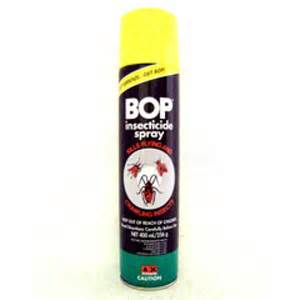 Security Blinds Insecticides Bop Insecticide Spray 18x600ml