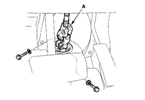 service manual [steering wheel removal 2001 acura mdx