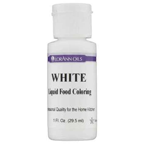 white food coloring white lorann liquid food color hobby lobby 798272