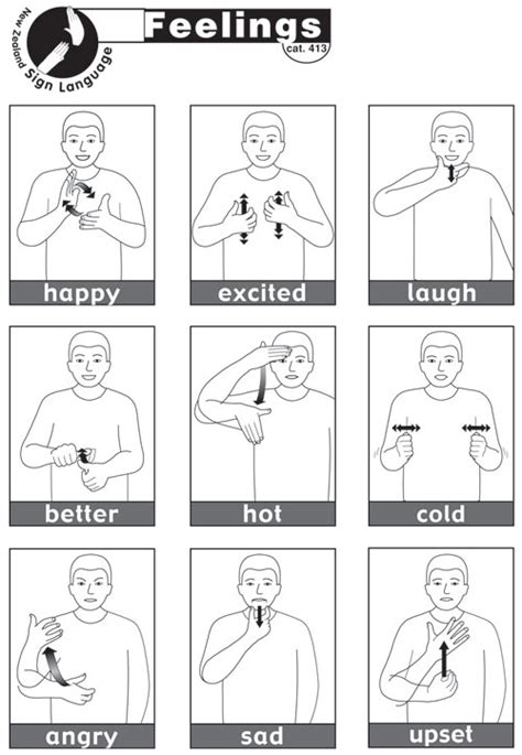 sign word list for colors in american sign language asl free printable makaton signs google search sign