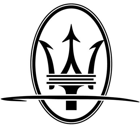 maserati logo white maserati related emblems cartype