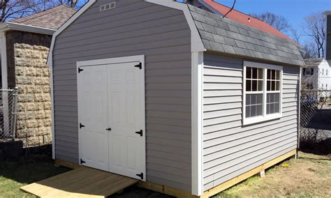 gambrel shed eastern shed