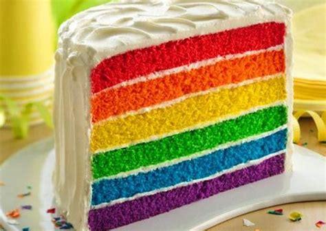 cara membuat kue bolu rainbow cara membuat rainbow cake kukus dan bakar cantikinfo net