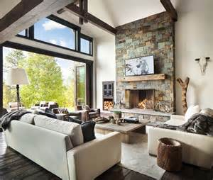 modern home interior decorating rustic modern dwelling nestled in the northern rocky mountains