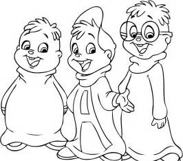 free printable chipettes coloring pages kids