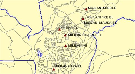 mililani mauka map mililani mauka map maps of usa