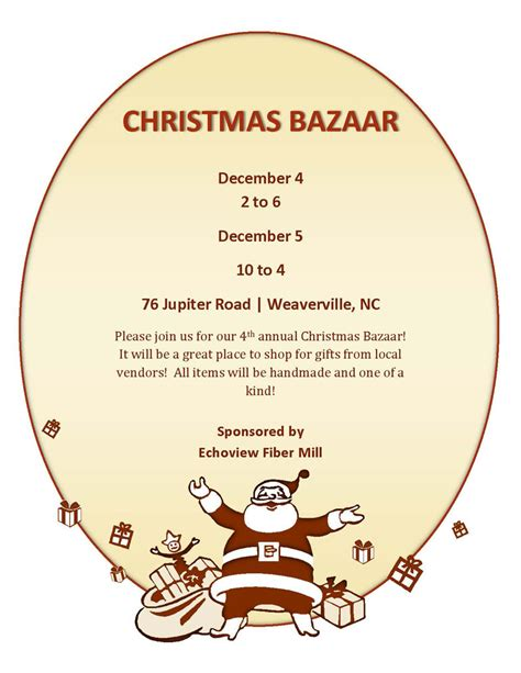echoview fiber mill christmas bazaar madison county