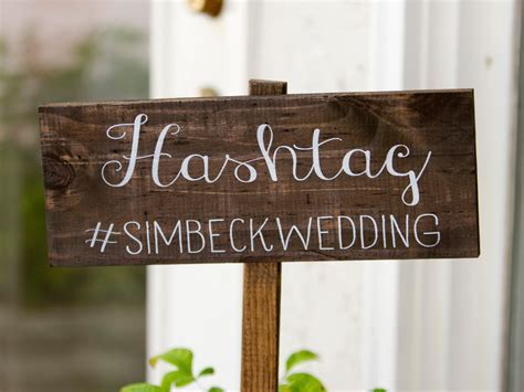 How to Come Up With The Best Wedding Hashtag Ever?   The