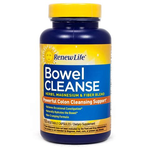 Detox Stool by Organic Bowel Cleanse By Renew 150 Capsules