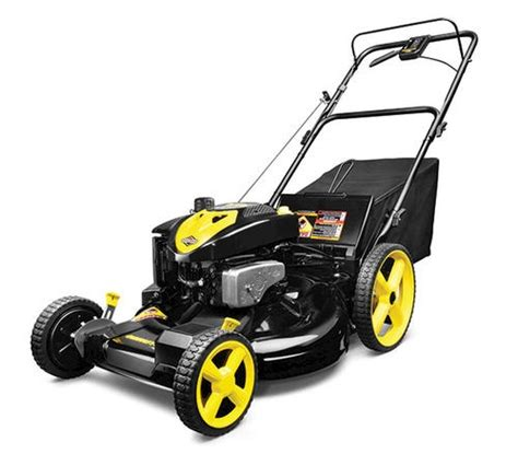 battery operated lawn mowers at menards brute 3 in 1 self propelled lawn mower at menards other