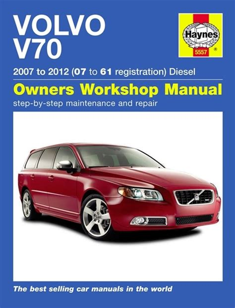 volvo v70 s80 service and repair manual