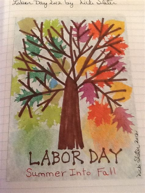 labor day by nickijoslater via flickr journal page