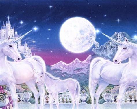 world  unicorn family royal gardens mountains