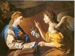 Fiat Mihi Matthias Stomer On Canvas C 1640 Annunciation