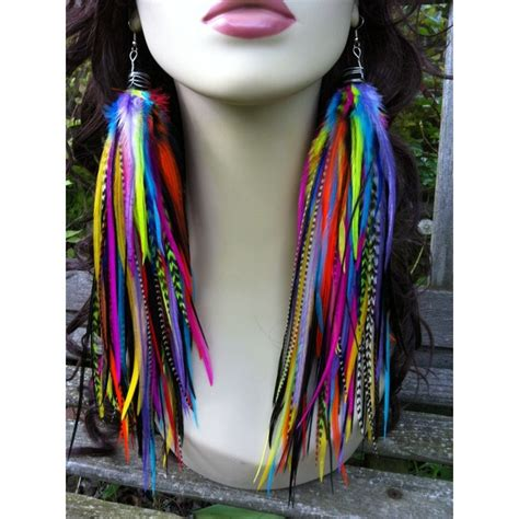 Premium Feather Earring by 459 Best Bijoux De Plumes Images On Feather