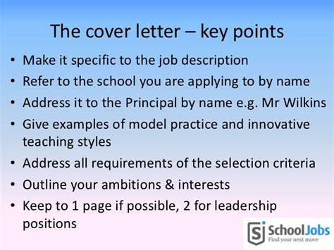 Sle Cover Letter Key Selection Criteria ieu cv workshop september 24