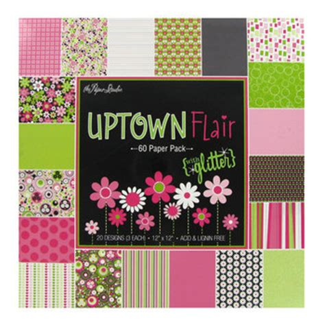 Hobby Lobby Craft Paper - 12 quot x 12 quot uptown flair paper pack hobby lobby 975235