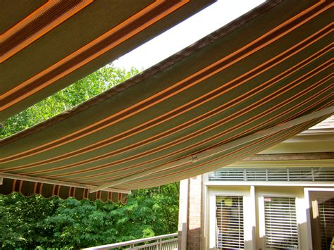 cloth awning today s fabric awnings add movement color and just the