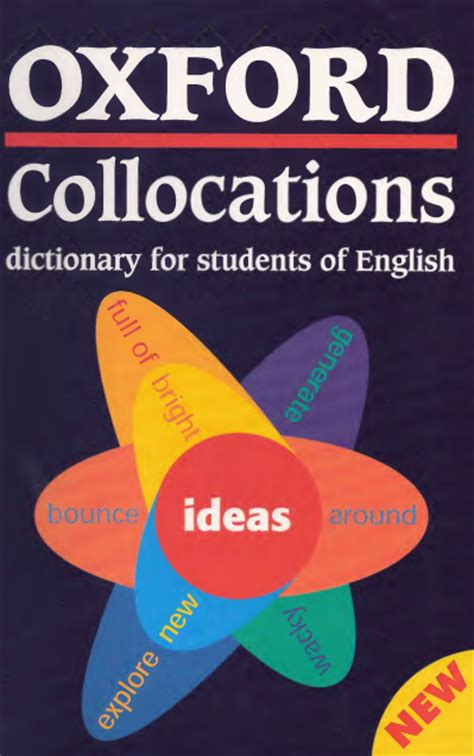 oxford collocations dictionary for oxford collocations dictionary for students of english ebook