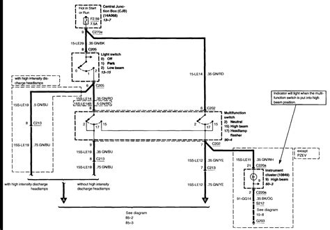 2009 ford focus headlight wiring diagram 40 wiring