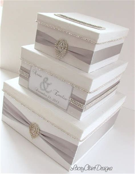 How To Make Gift Card Boxes For Weddings - white wedding card box box for wedding cards bling card box