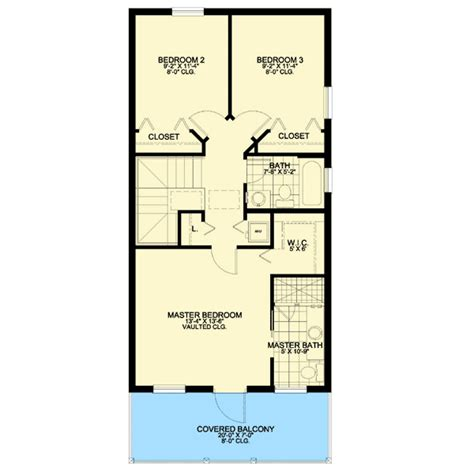 house plans with master suite on second floor beautiful southern home plan 32225aa 2nd floor master