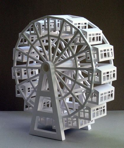How To Make A Paper Wheel - ferris wheel flickr photo