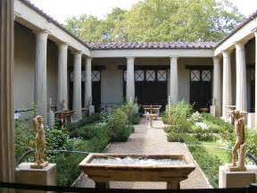 atrium house pompeii atrium reconstruction house of the vettii boboli gardens florence architecture