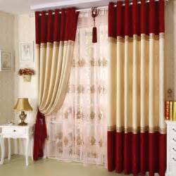 Red Sheer Curtains Shop Popular Red Voile Curtains From China Aliexpress