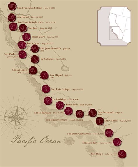 california missions map the california missions california missions foundation