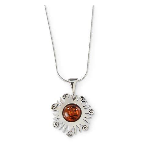Sun Pendant Necklace baltic swirl tip sun pendant necklace 654005