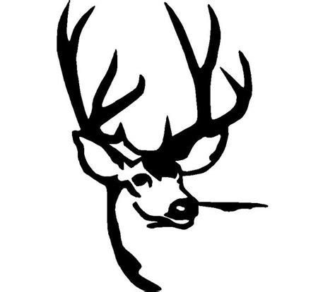deer hunting logos deer head svgs pinterest deer