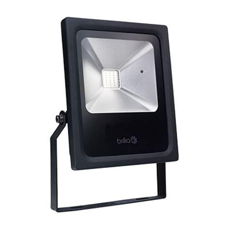 projetor led 20w rgb dimerizável brilia 431467