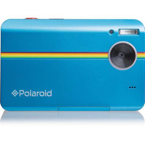 polaroid instant z2300 polaroid z2300 instant digital blue polz2300bl b h