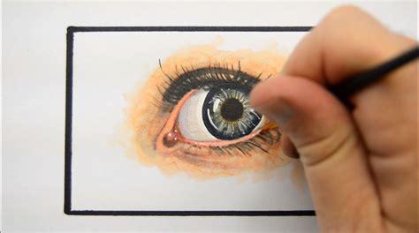 tutorial menggambar realistis tutorial menggambar dan mewarnai mata realistis dengan