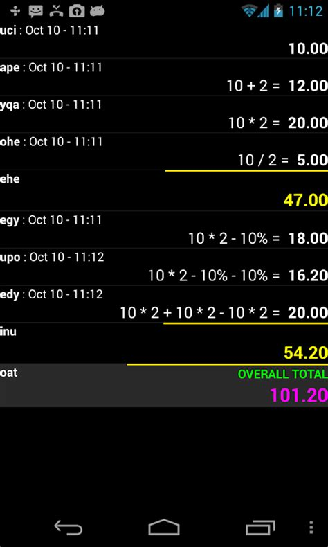 Spreadsheet Calculator App by Accounting Calc Spreadsheet Android Apps On Play