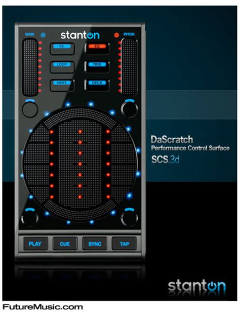 Touchpad Dj stanton officially announces dascratch touchpad dj controller futuremusic