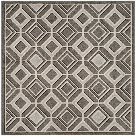 7 X 7 Square Area Rugs by Safavieh Amherst Gray Light Gray 7 Ft X 7 Ft Indoor