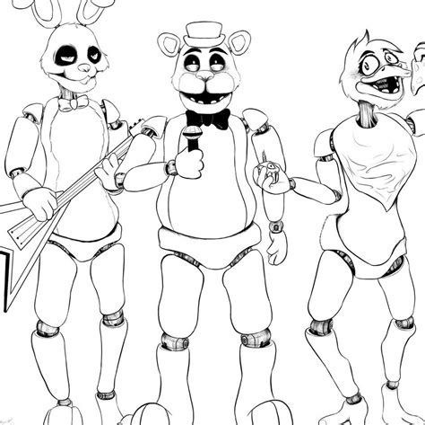 f naf 2 coloring pages chica toy f naf toy freddy coloring pages coloring pages
