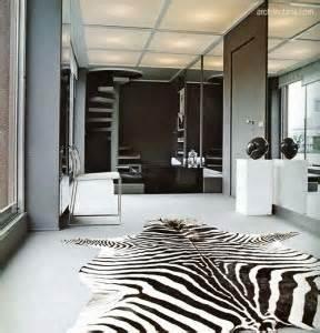 Karpet Zebra mendekorasi kamar tidur dengan motif zebra pt