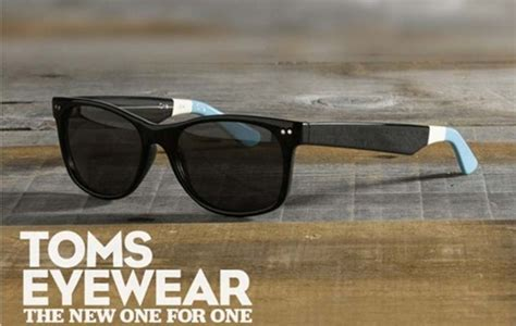 toms launches eyewear line college fashion