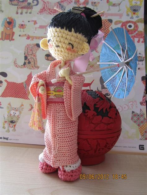 Pattern For Japanese Doll | 326 best images about crochet japanese dolls on