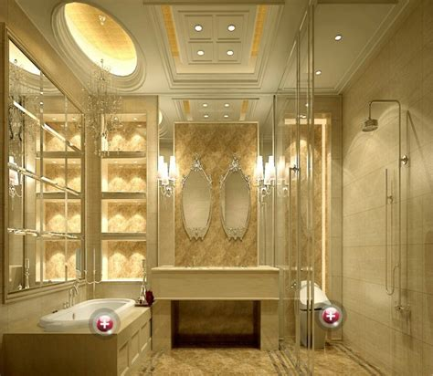 European Style Villas Bathroom Interior Design Interior European Bathroom Designs