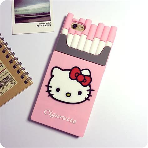 Casing Hello For Iphone 4 4s hello 3d cigaret silicone kills
