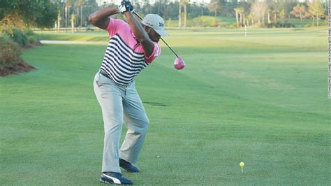 crack the whip golf swing maurice allen golf s big hitter who s also long on