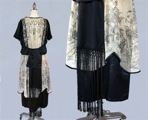 reserved 1920s dress 20s chinoiserie embroidered 17 best ideas about 20s fashion on roaring 20s