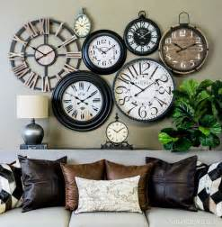 Clock Wall Decor 25 Great Ideas About Wall Of Clocks On Pinterest