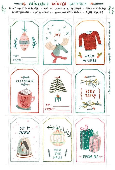 printable gift tags cards the ultimate guide free printable christmas gift tags